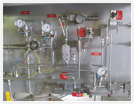 Exemple_real_Platine-inox-peint-Basse-Pression---gros-dÇbit---High-flow-control-panel